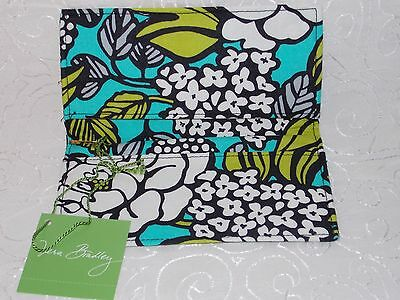 Vera Bradley Checkbook Cover Retired Island Blooms Free Shipping USA Made