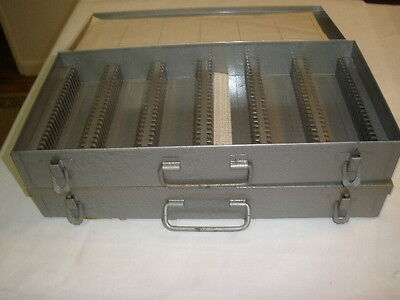2 Metal 35Mm Slide Tray File(150 Slides In Each  Or Coin Storage.