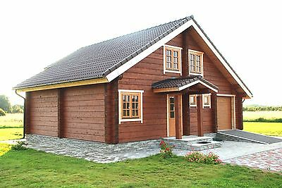 wooden house and building plans on CD-ROM