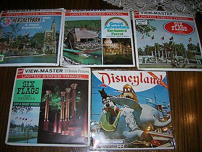 Viewmaster reels Amusement parks