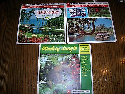 Viewmaster Reels Florida Attractions 1974