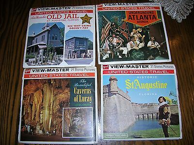 Viewmaster Reels U.S. Travel 1974