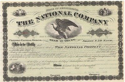 The National Co. > Central Railroad of New Jersey & Lehigh Valley Railroad stock