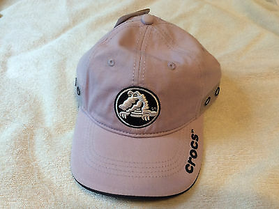 NWT Crocs Jibbitz Youth Purple Baseball Hat Cap