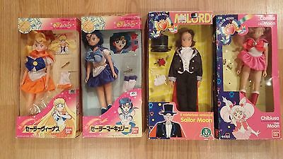 Sailor Mini Moon Sailormoon doll Milord Giochi Team SuperS Venus Mercury lot