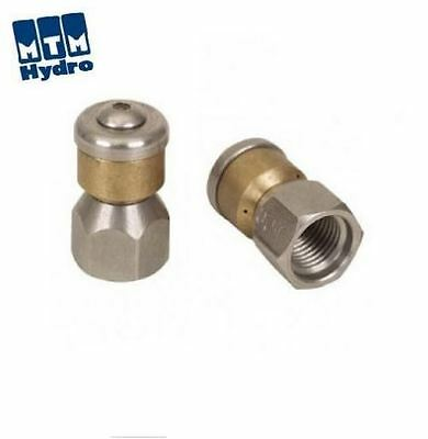 """MTM Hydro 1/8"""" Rotating Sewer Cleaning Jetter Nozzle #4.5 FREE SHIPPING"""