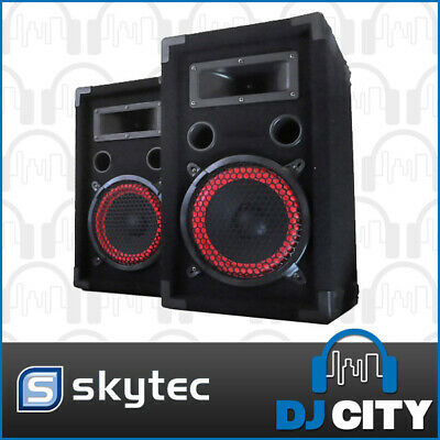 "8"" Passive Speaker pair - 300 watts peak power - great for home parties, kara..."