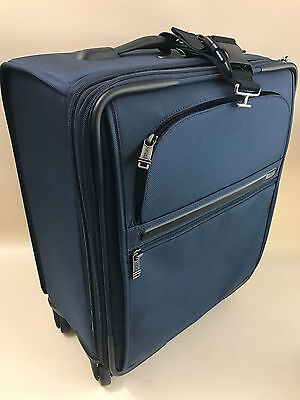 Tumi  Continental Zip Expandable Carry-On Style #: 22061  BLUE COLOR