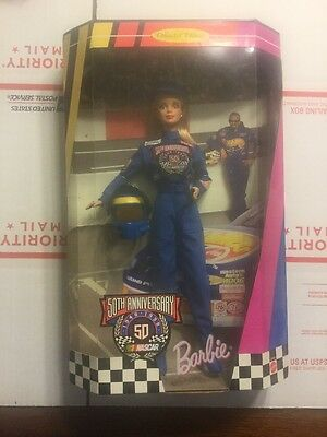Barbie 50th Anniversary of Nascar doll Collector's Edition, Brand new!