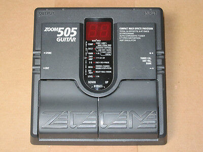 Zoom 505 Compact Guitar Multi Effects Pedal