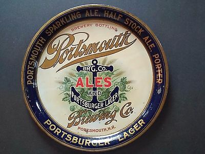 Portsmouth Ales & Lager (beer) Serving Tray. Portsmouth, NH. Pre-pro. (beer)