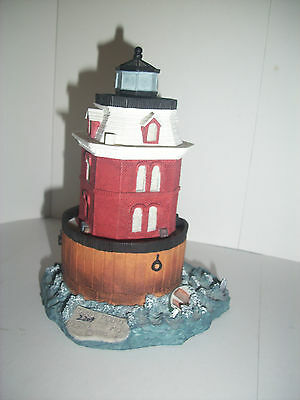Harbour Lights #167 Sandy Point Shoal, Maryland, Signed COA, Very Nice