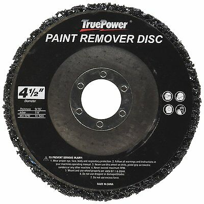 """4 1/2"""" x 7/8"""" Paint & Rust Stripping Cup Wheel - 10 pack"""