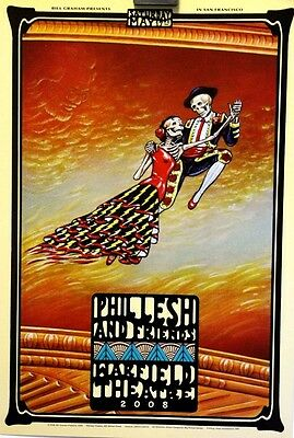 Phil Lesh and Friends | Warfield, SF | Orig. 2008 Concert Poster BGP #359