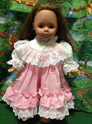 """VINTAGE 1985 20"""" MAX ZAPF Doll Made In GERMANY - Long And Think Hair -RARE!!!"""
