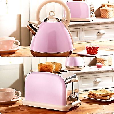 New Luxury Prolex Sparkle Pyramid Kettle & Matching 2 Slice Toaster, Traditional