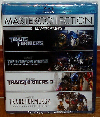 Coleccion Completa 1-4 Transformers-4 Blu-Ray-Precintado-Castellano-Sealed-Nuevo