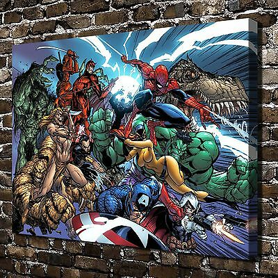 Marvel's The Avengers HD Canvas Print Paintings Home Decor Wall Art Pictures