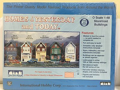 IHC, Storefront Buildings 2nd Hand Rose, O SCALE 1:48, PLASTIC KIT, 300-14
