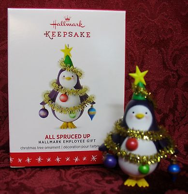 Hallmark 2016 Retail Employee Gift~All Spruced Up
