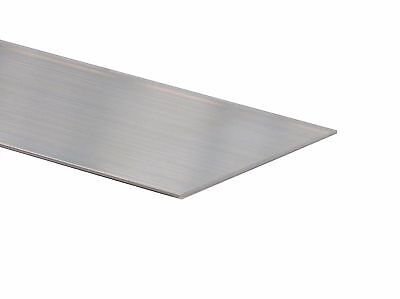 Aluminium Skirting Standard Flat Section 150mm x 1.5mm at 3.6m long mill finish