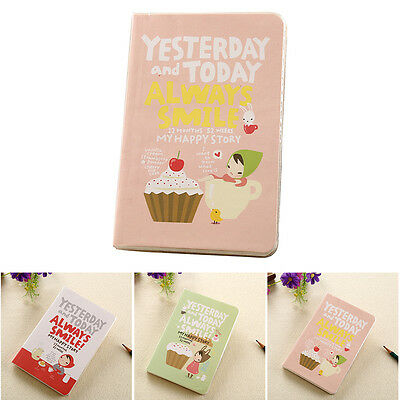 Cute Diary Notebook Red Hat Girl Agenda Schedule Record Weekly Planner Hot Sale