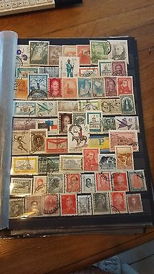 60 timbres Argentine (lot 12)