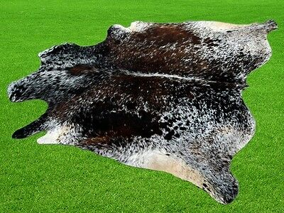 "New Cowhide Rugs Area Cow Skin Leather 22.03 sq.feet (61""x52"") Cow hide MB-9449"