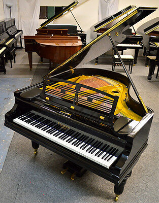 Feurich German Made Grand Piano in black polish