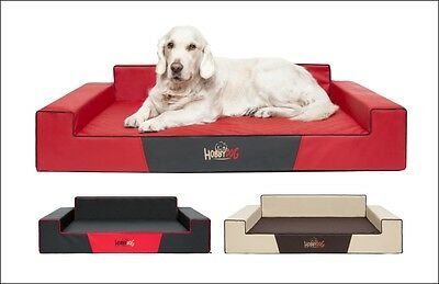 dog bed Glamour faux leather large comfortable sofa
