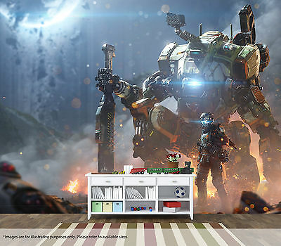 Titanfall 2 Wall Mural Wall Art Quality Pastable Wallpaper Decal Gamer