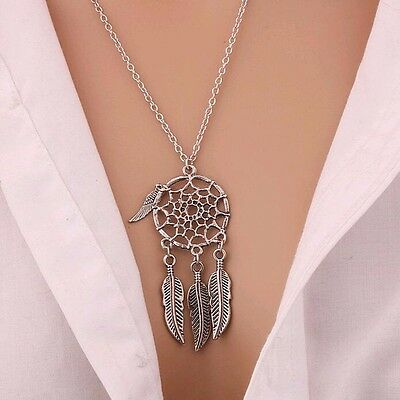 Dream Catcher Necklace Pendant Native American Indian Tribal Ethnic Jewellery UK