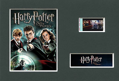 HARRY POTTER -  5    Mounted 35mm Movie Film Cell Memorabilia
