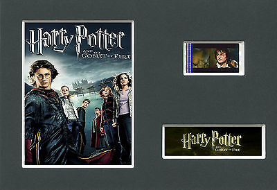 HARRY POTTER -  4    Mounted 35mm Movie Film Cell Memorabilia
