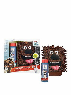 The Secret Life of Pets - Bubble Bath & Duke Wash Mitt Set - 3+