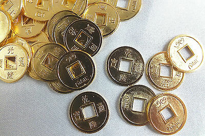 12 S CHINESE I CHING GOLD LUCKY TOAD COIN WEDING CONIARE Münze NEW YEAR PARTY