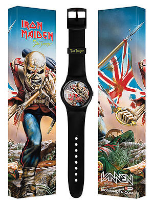 Iron Maiden Vannen The Trooper Watch Limited Book Of Souls New Only 250 Made