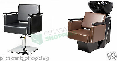 Professional Hairdressing Furniture Backwash and Chair Wash Unit Stailing Chairs