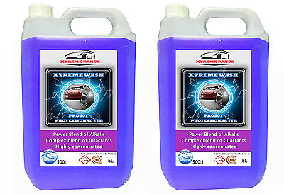 DOUBLE PACK 10L XTREME RANGE 500 : 1 TFR Traffic Film Remover