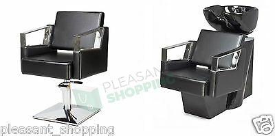 hairdresser's salon Professional Hairdressing Furniture Backwash and Chair