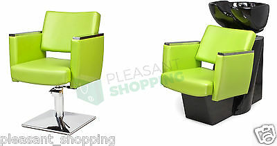 hairdresser's salon Professional Hairdressing Furniture Backwash and Chair MULTI