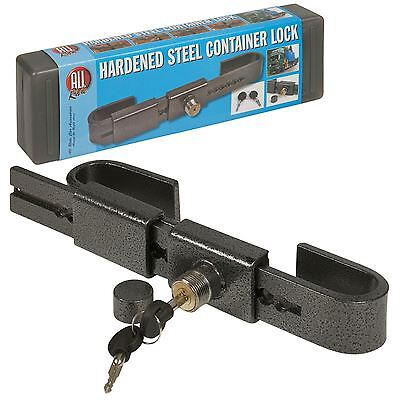 Heavy Duty Hardened Steel Container Lock Adjustable Garage Warehouse Security
