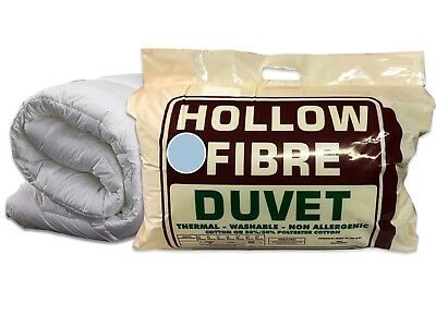 Non Allergy Hollowfibre Duvets Anti Allergy Quilts All Seasons Duvets All Togs