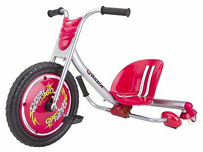 Razor Flash Rider caster trike 360 in red - Flashrider Stock ready for Christmas