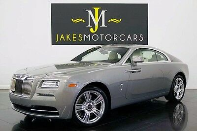 2015 Rolls-Royce Other Wraith...(ONLY 22 MILES!!) 2015 ROLLS ROYCE WRAITH, ONLY 22 MILES! STONE GREY ON CREME LIGHT! PRISTINE CAR!