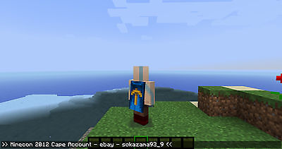 Minecon 2012 Cape Account - Full Access / TID / Certified Mojang Account