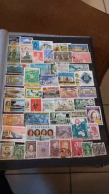 48 timbres Philippines (lot H)