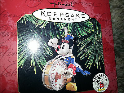 HALLMARK Keepsake 1997 BANDLEADER MICKEY MOUSE Disney CHRISTMAS ORNAMENT Vtg NEW