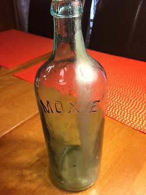 Vintage Moxie Nerve Food Bottle- The Energy Drink of the Late 1800s