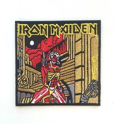 Iron Maiden Somewhere in Time Embroidered Patch Iron on or Sew on